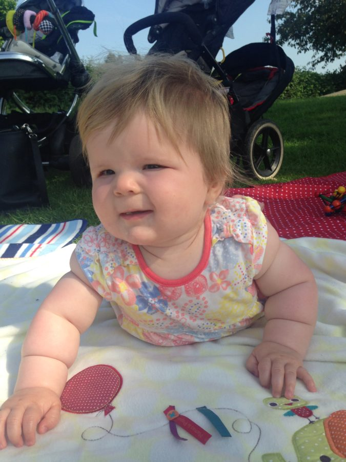 Baby at the park