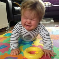 The frustration of learning to crawl