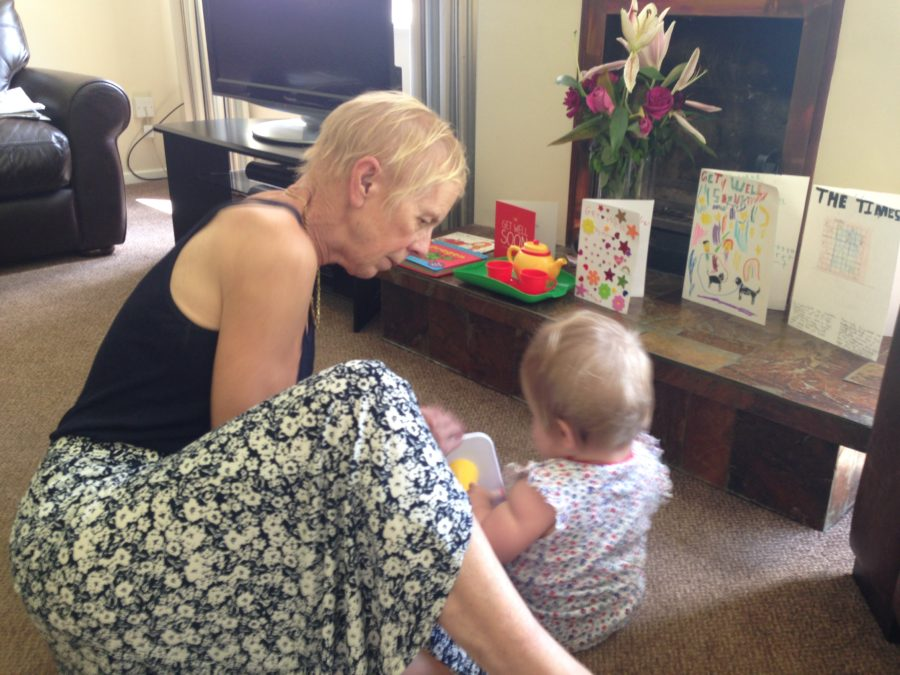 baby with nanny