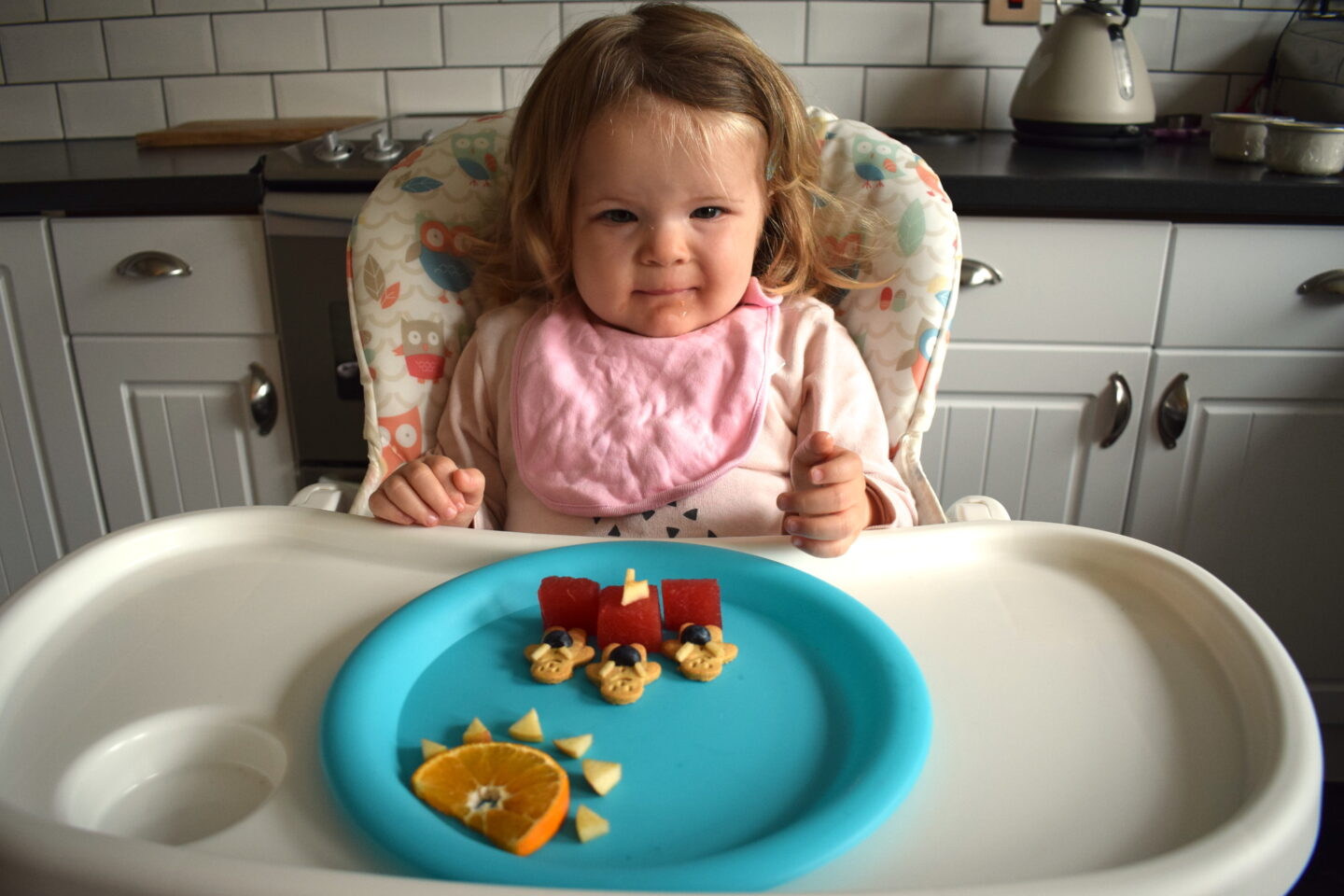 Making snack time more fun for toddlers
